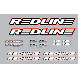 Redline BMX Frame Decals Stickers