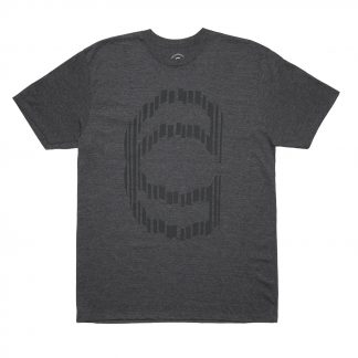 Cinema Sliced T Heather Black