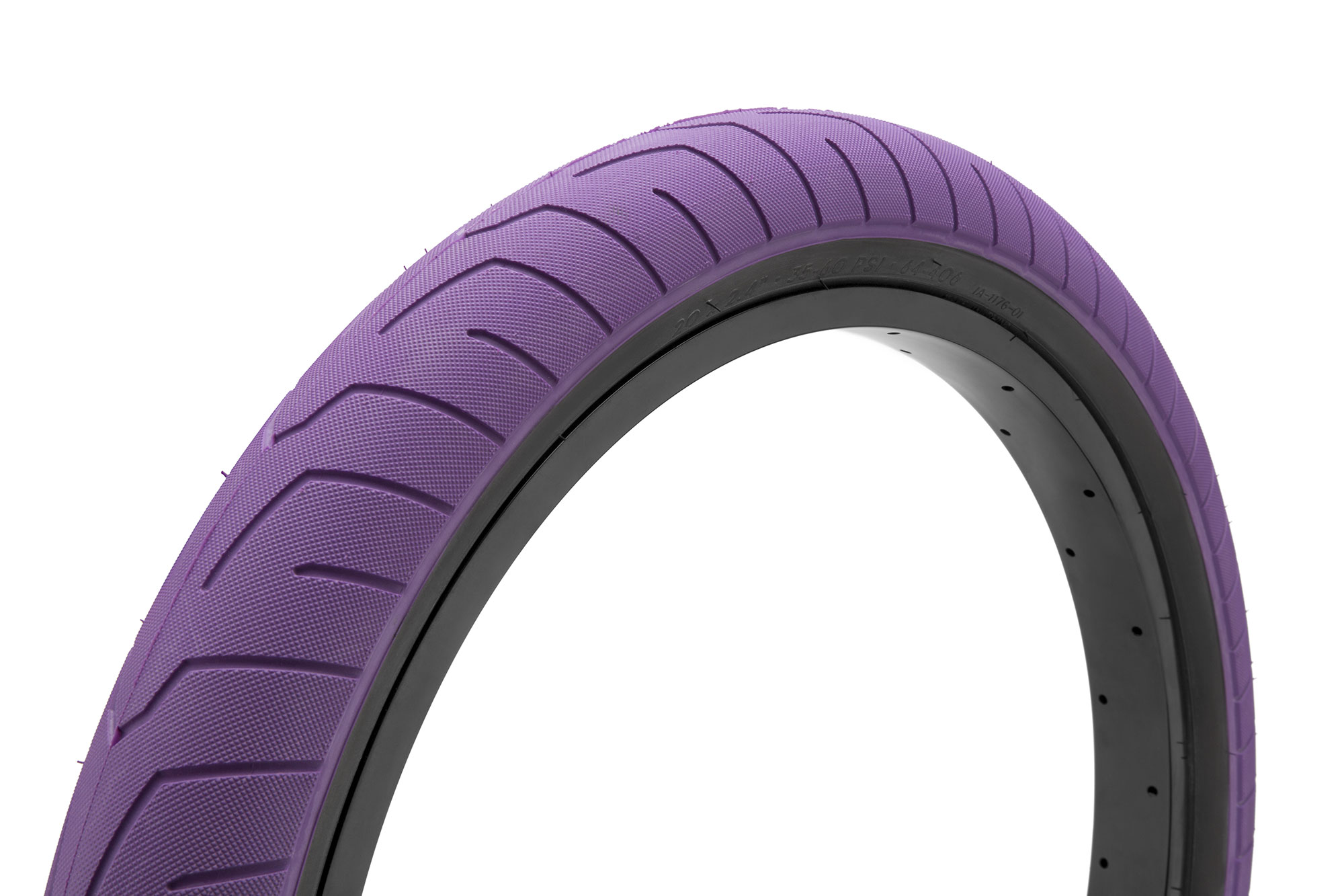 "KINK BIKES SEVER 20/"" X 2.4/"" PURPLE  BICYCLE TIRE"