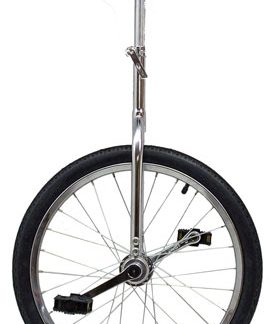 "Action 20"" Chrome Unicycle"