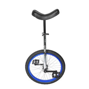 "Sun Classic 16"" chrome unicycle"