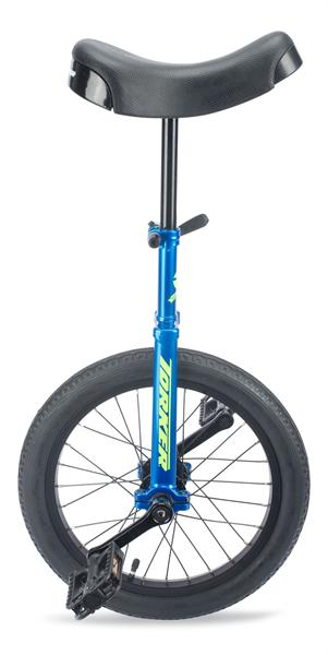 Torker Unistar CX Unicycle Polished Blue