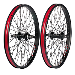 Alex DM24 BMX Alloy Wheelset