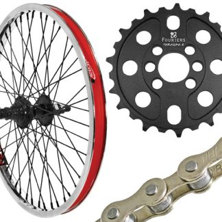 Wheel Kit 9T with chain and 25T gear
