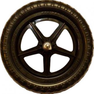 Strider Replacement Wheel Ultralight, Black, Sold as Each