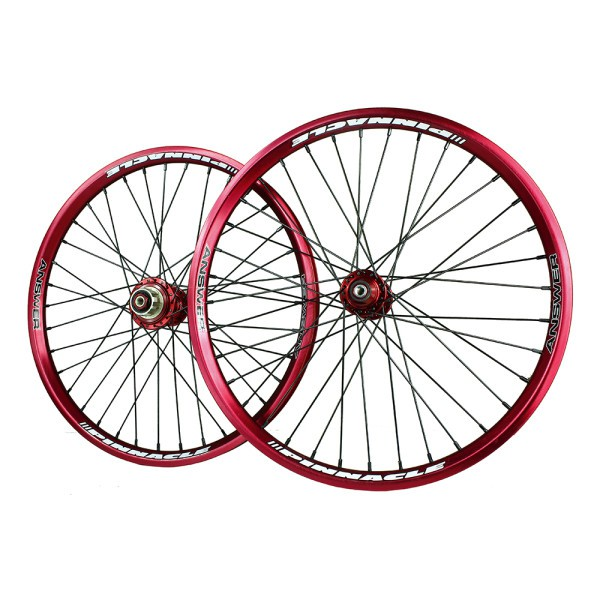 Answer Pinnacle Pro BMX Wheelset Cassette Pair