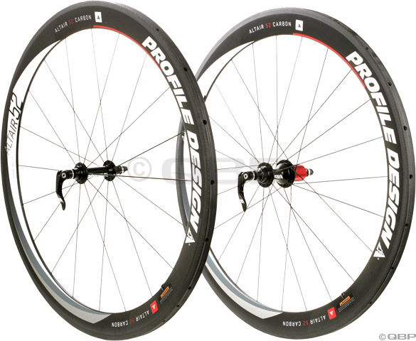Profile Altair 52 Full Carbon Tubular Wheelset