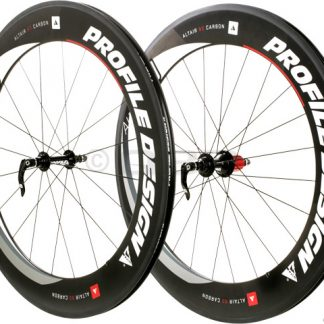Profile Altair 80 Full Carbon Clincher Wheelset