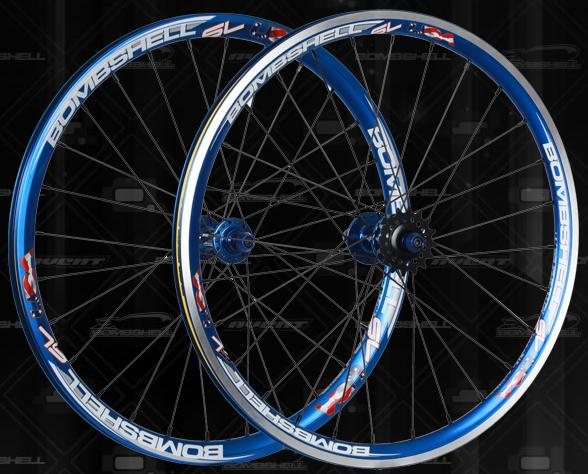 "Bombshell SL Wheelset All Sizes 20"" and 24"""